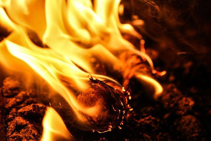 Суббота в Хакасии началась с серьезного утреннего пожара