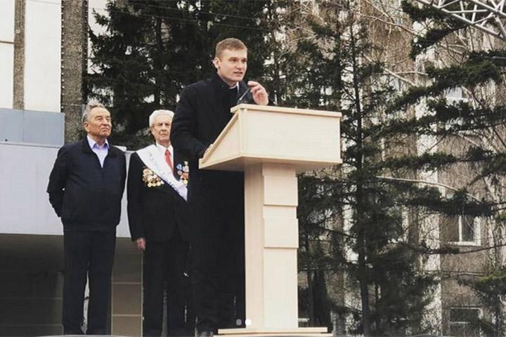 Первомайское обращение Валентина Коновалова к жителям Хакасии