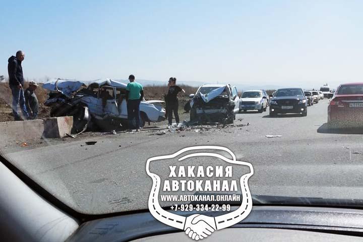 Страшное ДТП в Хакасии унесло жизнь водителя