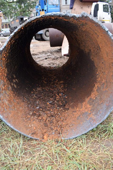Специалисты СГК сравнили состояние труб Абакана и Черногорска