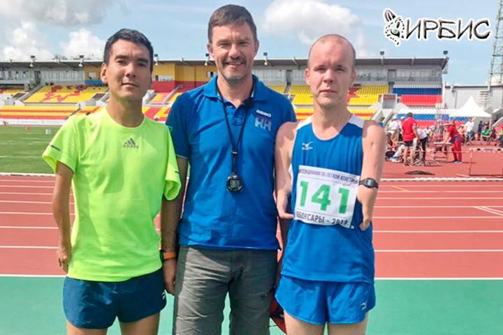 Спортсмены из Хакасии взяли медали чемпионата страны по легкой атлетике