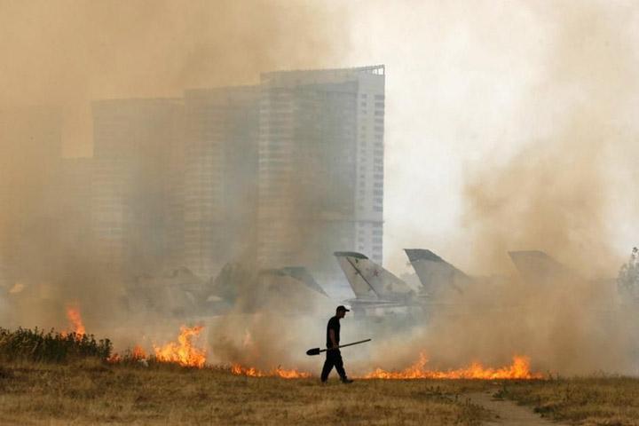 Пожары в Красноярском крае приобретают характер катастрофы