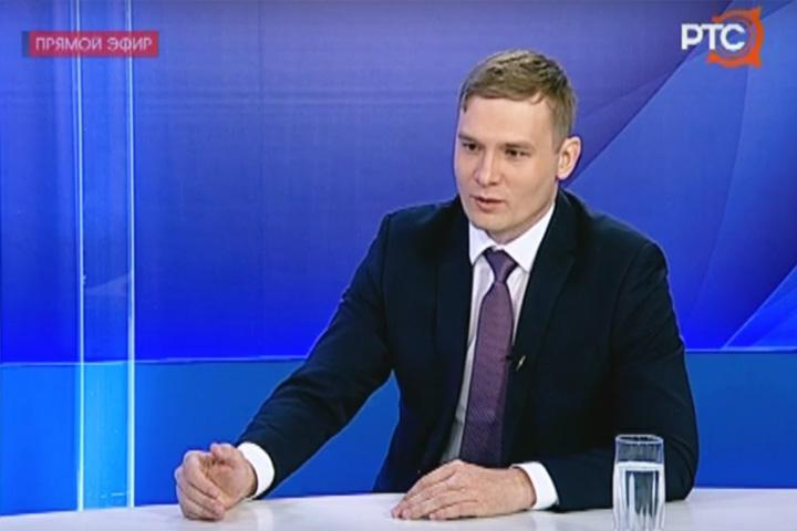 Губернатор Коновалов ответил на вопросы в прямом эфире