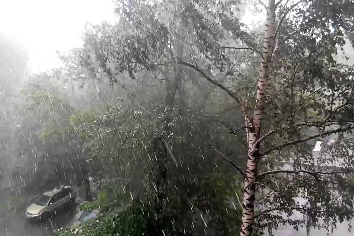 Погода в Хакасии опасная и неблагоприятная