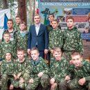 Глава Хакасии встретился с воспитанниками клуба «Десантник»