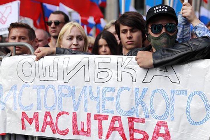 Сергей Обухов: Власть сама подписала себе приговор, нарушив права россиян