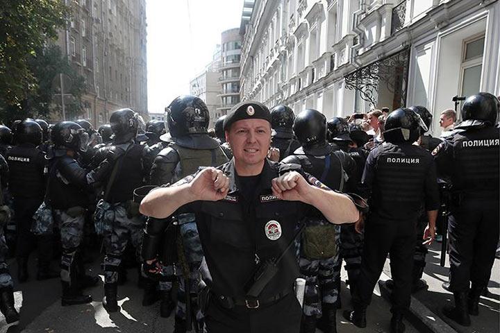 «Репетиция Майдана» или обыкновенный фашизм?