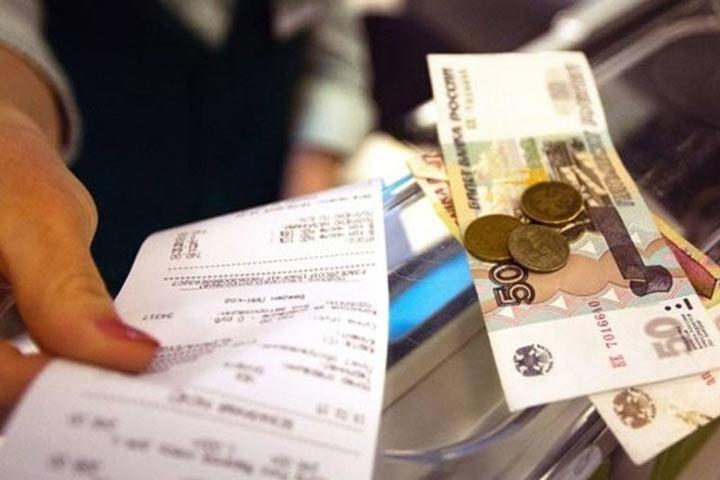 Размер среднего чека россиян в магазинах установил годовой антирекорд