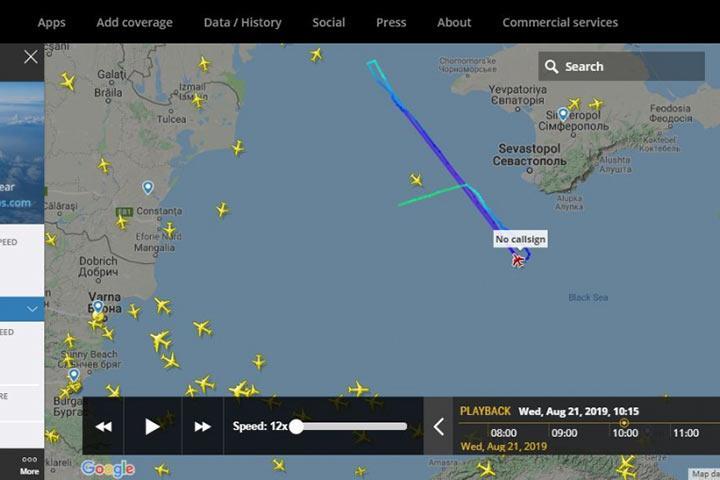 Летел на сверхзвуке: у границ Крыма засекли подозрительный самолет