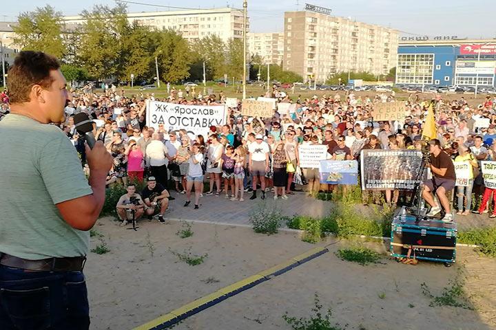Митинг за отставку Александра Усса собрал рекордное количество красноярцев