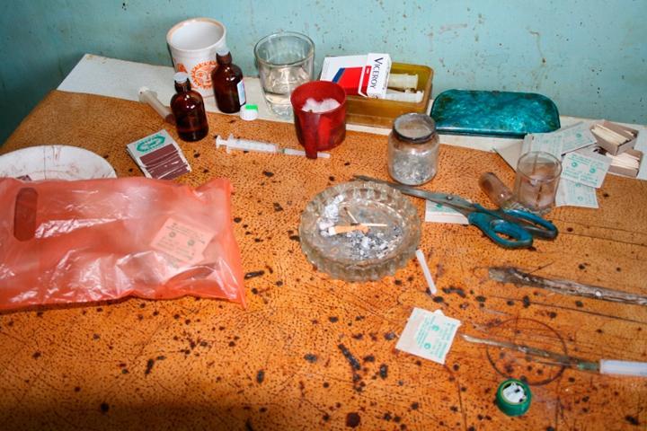 В Саяногорске одним наркопритоном стало меньше