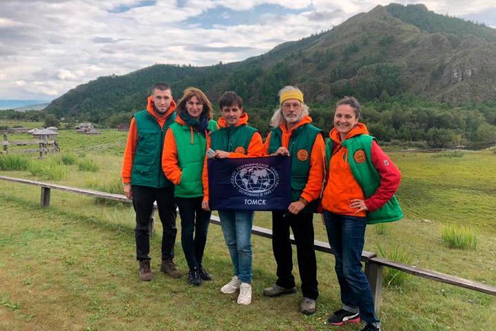 Участники пилотного тура Русского географического общества посетили Хакасию