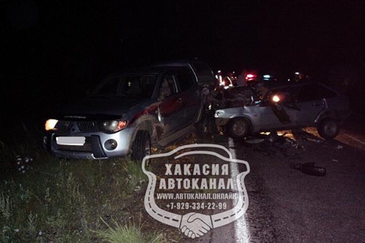 На трассе Абакан - Аскиз произошло страшное ДТП