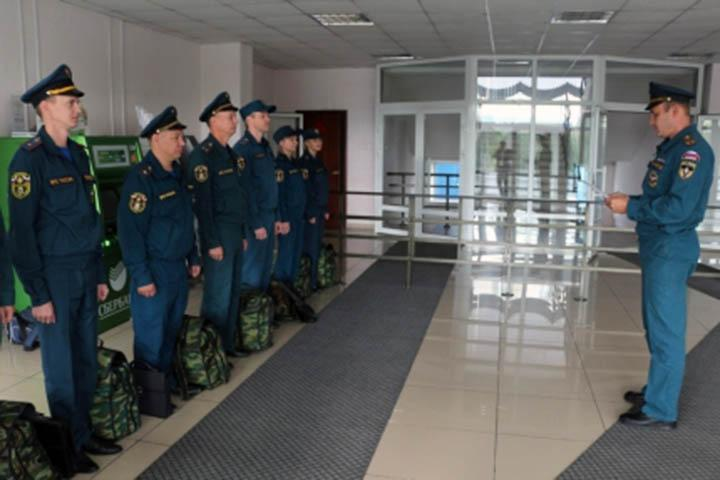 В Хакасии сотрудники МЧС несут дежурство в режиме повышенной готовности