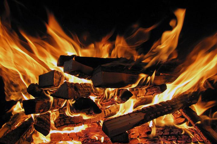 Ночью в Хакасии горел свинарник