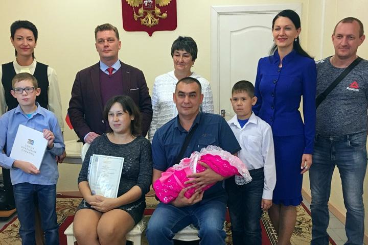 В хакасском городе подсчитали новорожденных