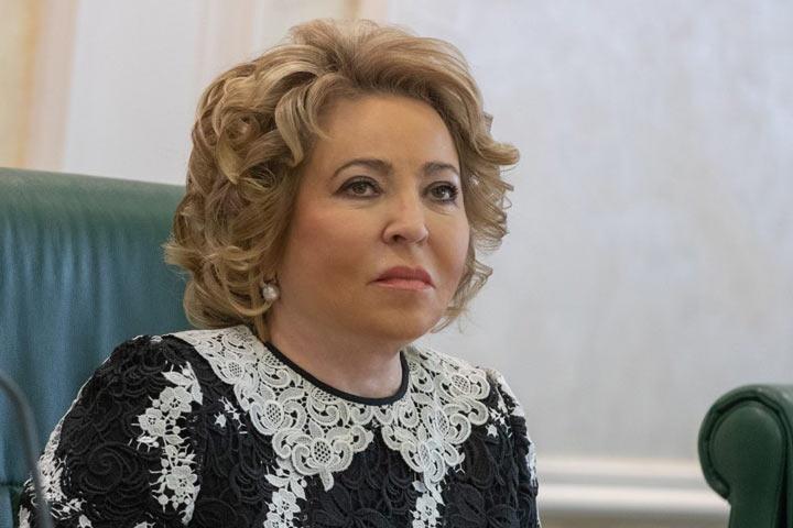Матвиенко переизбрали на пост главы Совета Федерации