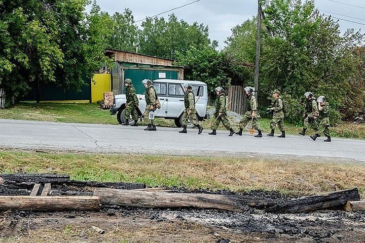 На складе боеприпасов под Ачинском прогремели новые взрывы