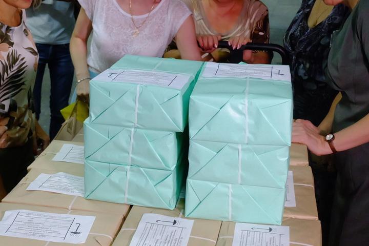 Бюллетени для голосования переданы в территориальные комиссии Хакасии
