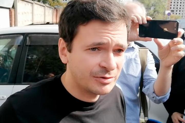 Илья Яшин вышел на свободу после пятого ареста подряд