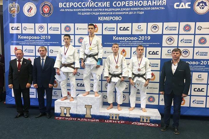 Дзюдоист из Хакасии получил право на участие в Первенстве России