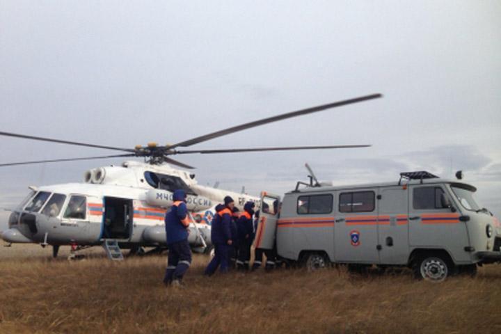 Помощь пошла: спасатели из Хакасии вылетели в Красноярский край