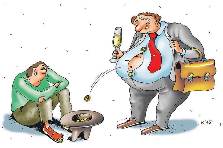Откуда в России берутся миллионеры, если населению хватает денег лишь на еду