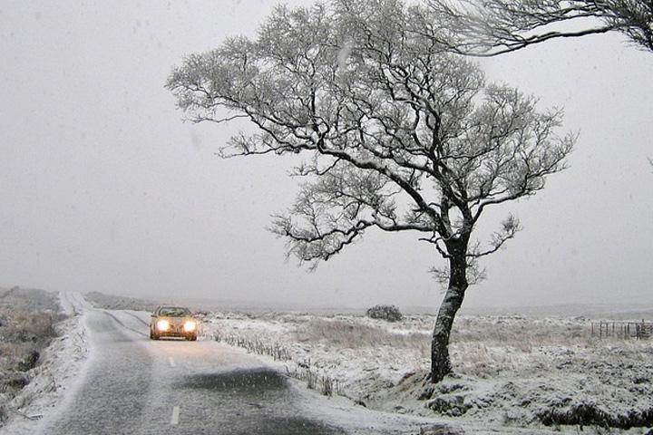 Погода на выходных в Хакасии: ветреная, снежная, но... теплая