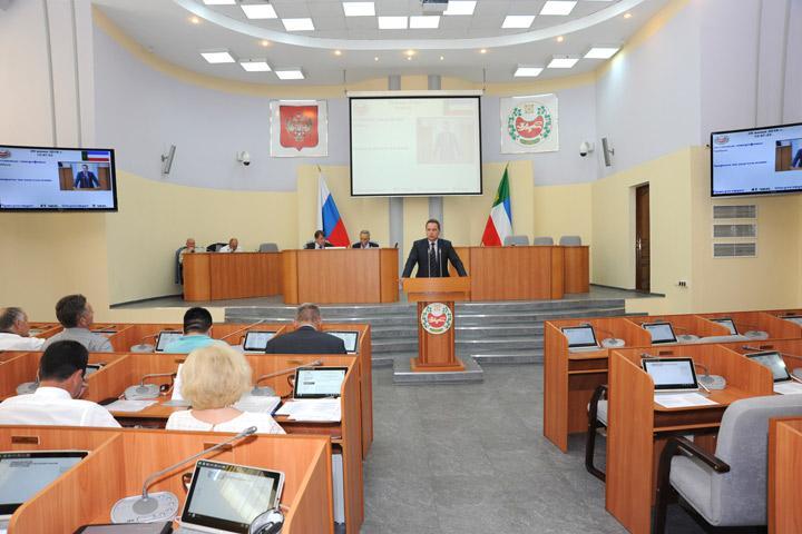 Новый статус Кудашкина, Войновой и Миронова подтвердит парламент Хакасии