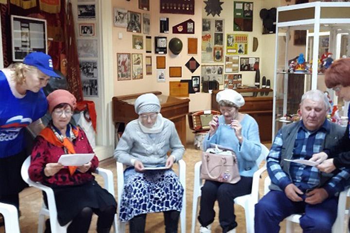 В Хакасии партийцы проводят профилактические встречи со старшим поколением