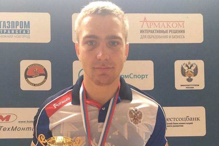 Боец из Хакасии стал обладателем Кубка России