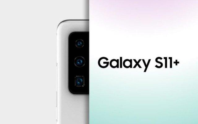 Samsung Galaxy S11+ появился на новом рендере с более красивым расположением сенсоров камеры
