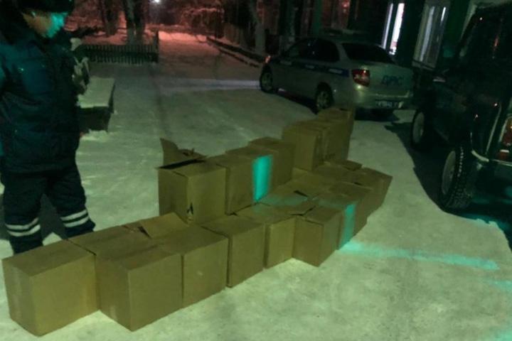 Сотни литров алкоголя из Хакасии могли попасть в Туву